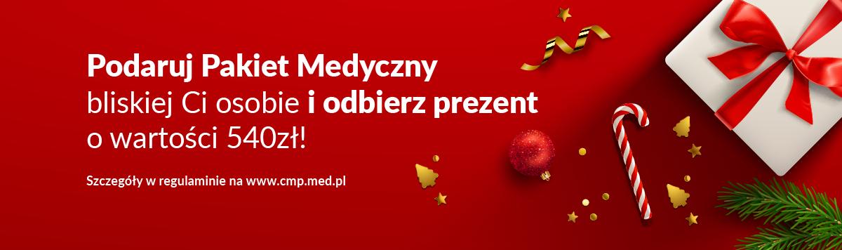 Prezent gwiazdkowy z CMP! Podaruj pakiet medyczny i odbierz prezent!