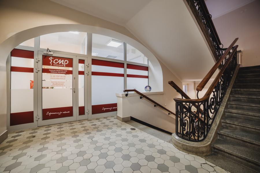 Przychodnia CMP Mariańska - korytarz