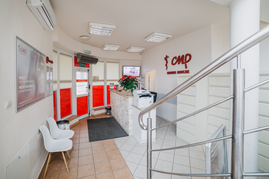 Przychodnia CMP Warszawa Ochota - recepcja
