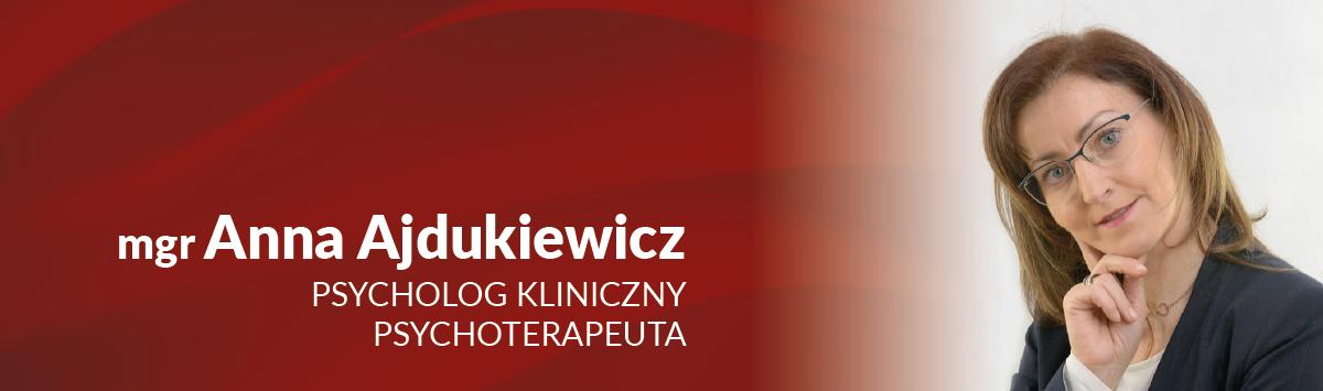 anna ajdukiewicz psycholog kliniczny psychoterapeuta centrum medyczne cmp