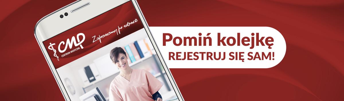 portal pacjenta- aplikacja mobilna- centrum medyczne cmp