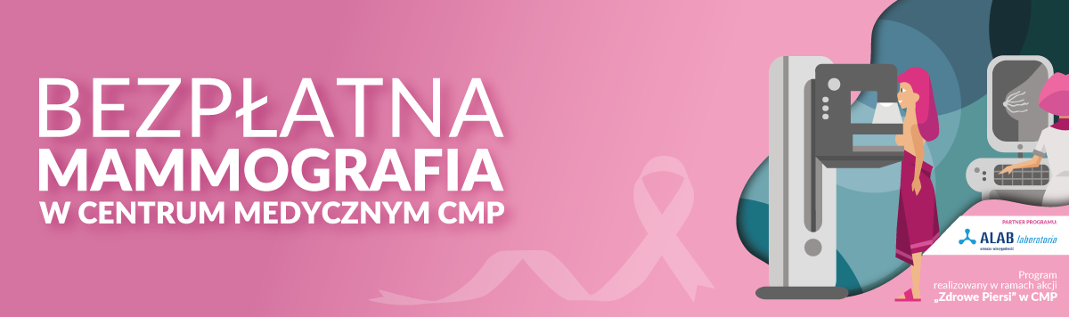 mammografia, badania, rak piersi, centrum medyczne cmp