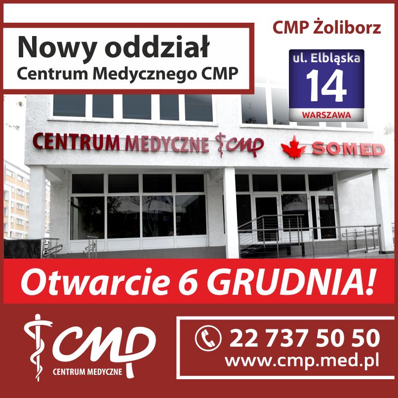 Otwarcie nowego oddziału Centrum Medycznego CMP Żoliborz!