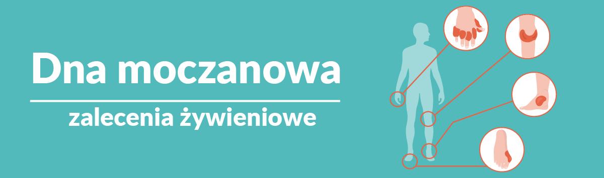 Dna moczanowa – zbilansowana dieta – dietetyk z CMP Piaseczno radzi