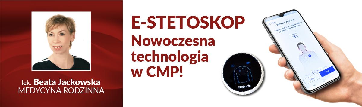 Pilotażowy program E-STETOSKOP w Centrum Medycznym CMP