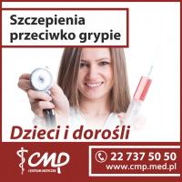 szczepienia przeciwko grypie Centrum Medyczne CMP