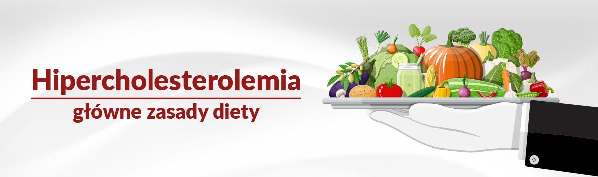 Hipercholesterolemia – zalecenia żywieniowe
