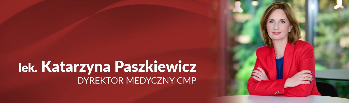 katarzyna paszkiewicz konornawirus centrum medyczne cmp