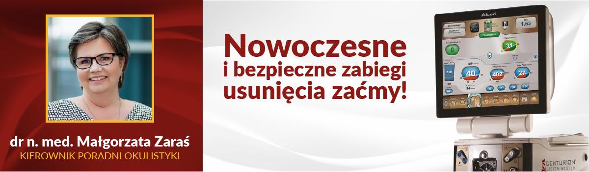 Nowoczesne i bezpieczne zabiegi usunięcia zaćmy z Centurion® Vision System w Centrum Medycznym CMP Piaseczno