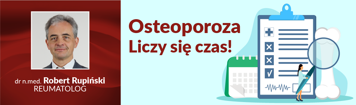 Osteoporoza – liczy się czas! Reumatolog z CMP Piaseczno o profilaktyce, objawach i leczeniu osteoporozy