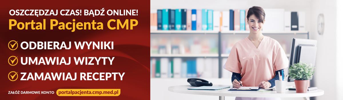 E-recepta, konsultacje lekarzy, wyniki badań w Portalu Pacjenta CMP