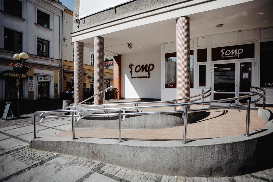 Przychodnia CMP Chmielna - siedziba