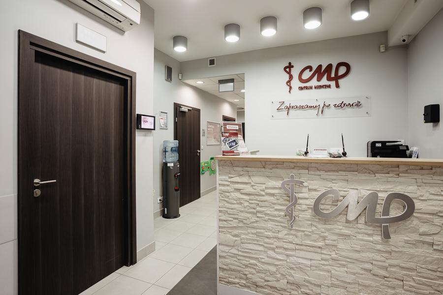 Przychodnia CMP Warszawa Wola - recepcja