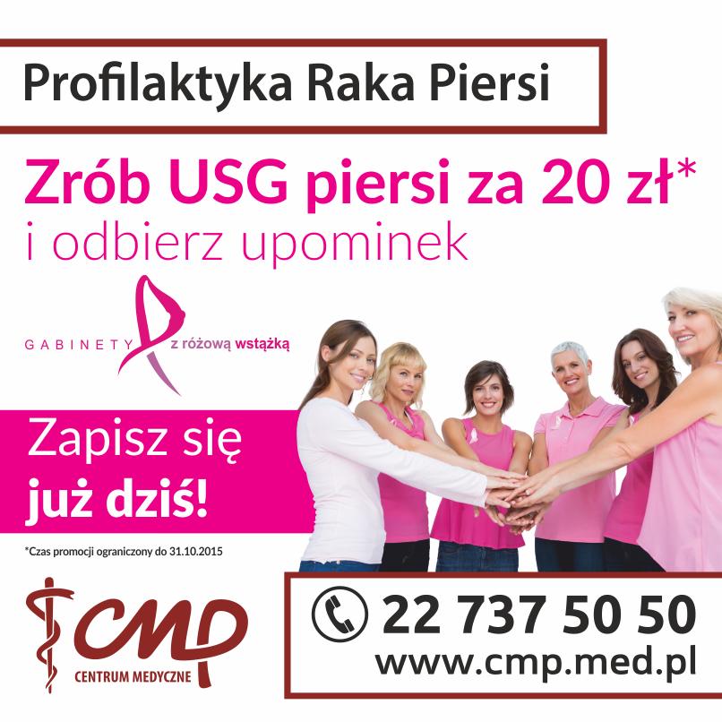 różowa wstążka Centrum medyczne CMP