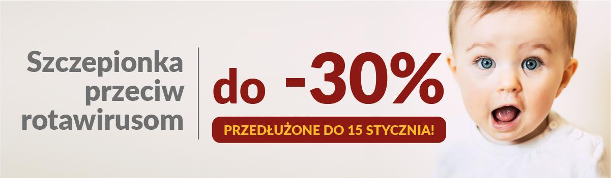 Szczepienie przeciw rotawirusom do -30% w Centrum Medycznym CMP – tylko do 15.01.2021