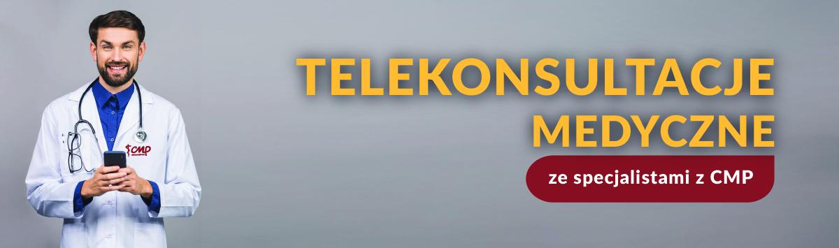 telekonsultacje ginekolog, okulista, pediatra, dermatolog, kardiolog, Centrum Medyczne CMP
